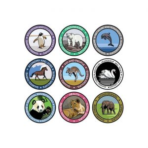 Environmental Badge Designs